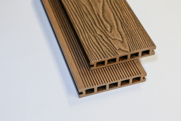 brown plastic decking boards