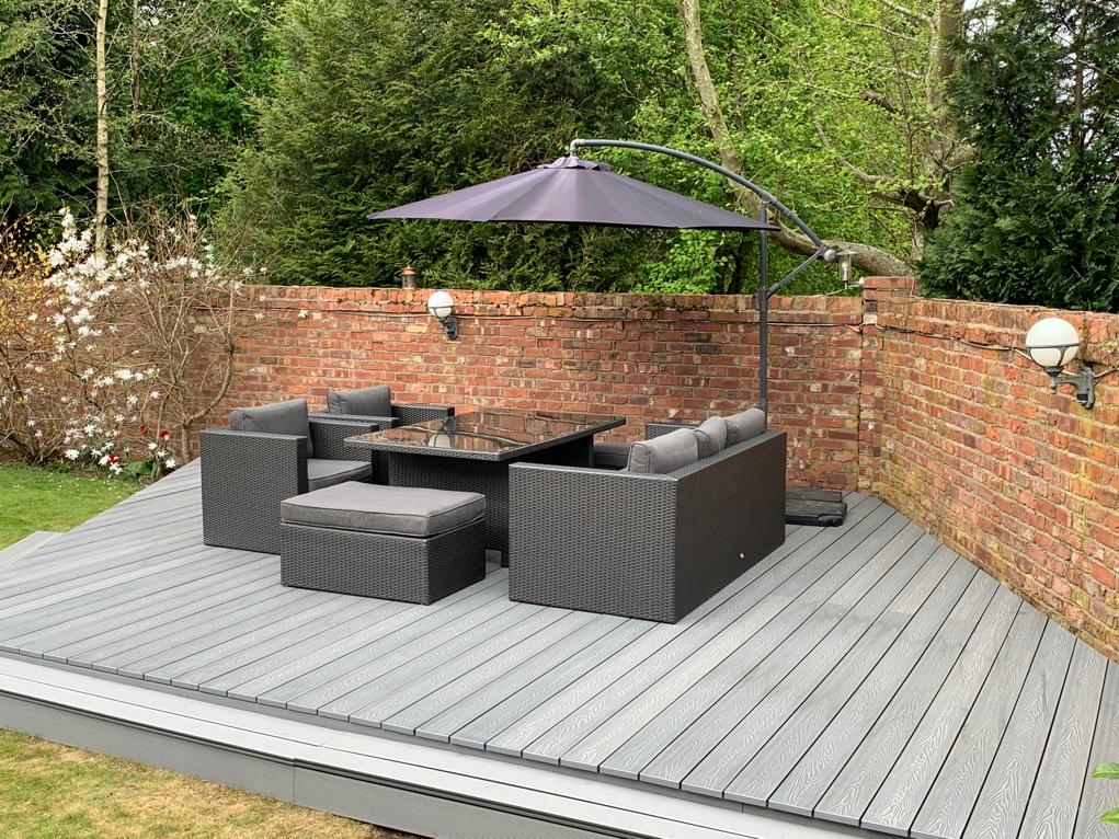 artificial decking