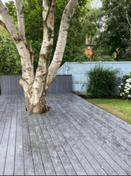 Completed Composite Decking